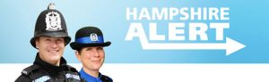 Hampshire Alert logo
